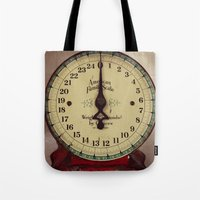 Vintage Scale Tote Bag
