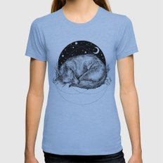 Fox Womens Fitted Tee Athletic Blue SMALL