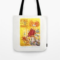 Attack of the 22 Inch Fraggle Tote Bag