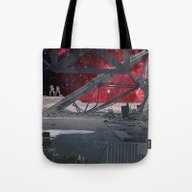 SPACE DEVASTATION Tote Bag