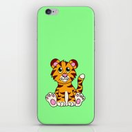 Sitting Tiger iPhone & iPod Skin