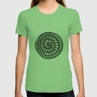 circle Womens Fitted Tee Grass SMALL