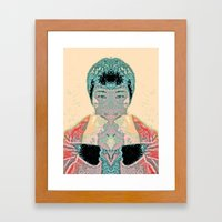 FORTUNE COOKIE Framed Art Print