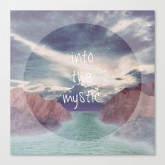 Into the Mystic (ANALOG zine) Canvas Print