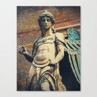 Estatua de San Miguel Canvas Print
