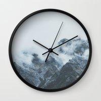Stormy New Zealand Wall Clock