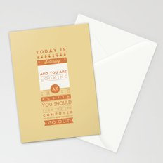 Saturday night fever. Stationery Cards