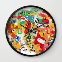 No Idea Wall Clock