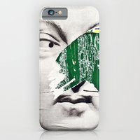 iPhone & iPod Case featuring What are you looking at? by Michael Moreno