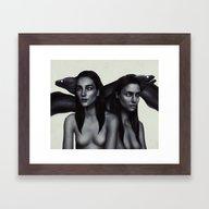 Ripples.  Framed Art Print