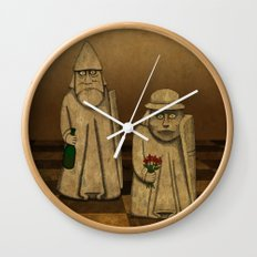 Playing for Peace Wall Clock