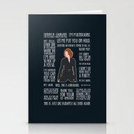 Black Widow Stationery Cards