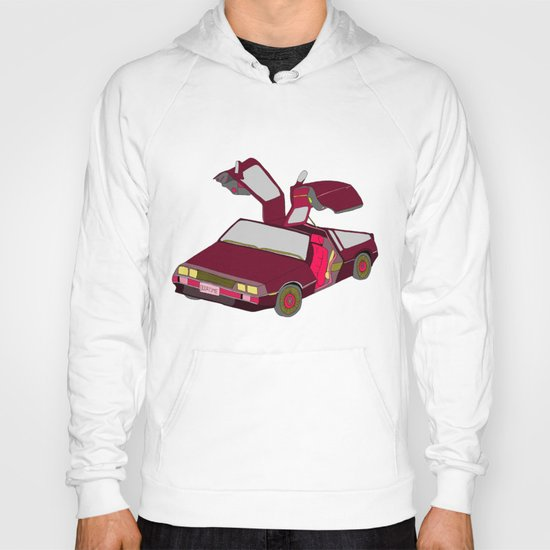 cool girls like flying cars Hoody