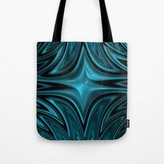 Zigzag in blue Tote Bag