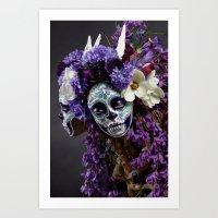 Willow Blossom Muertita … Art Print
