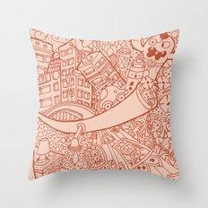 #MoleskineDaily_15 Throw Pillow
