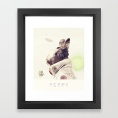 Star Team - Peppy Framed Art Print