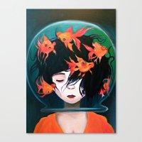Mistaken Identity (Ken W… Canvas Print