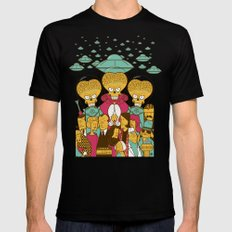 Mars Attacks! SMALL Mens Fitted Tee Black