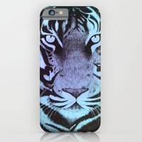 Be a Tiger (Blue) iPhone 6 Slim Case