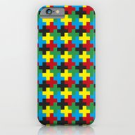 iPhone & iPod Case featuring The Prime Cross by The Accelerator