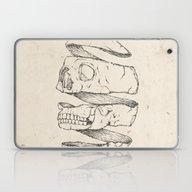 Twister Skull Laptop & iPad Skin