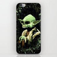 Skull Yoda Jedi Master  iPhone & iPod Skin