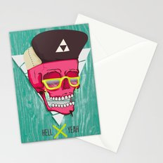 Hell Yeah Skull 2 Stationery Cards