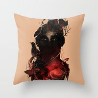 Universe Inside Throw Pillow