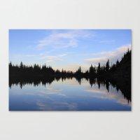 Salmon Lake Canvas Print