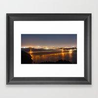 San Francisco Golden Bri… Framed Art Print