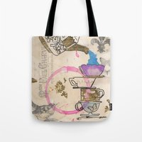 Tea Cups Tote Bag