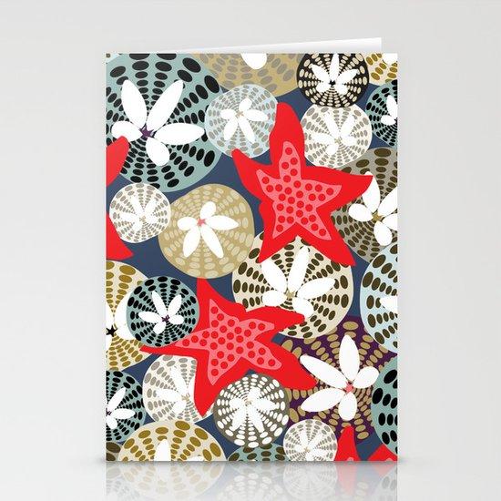 Starfish Stationery Card