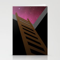 Escape to heaven - pink Stationery Cards