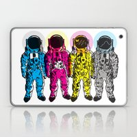 CMYK Spacemen Laptop & iPad Skin