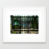 Mainstation Framed Art Print