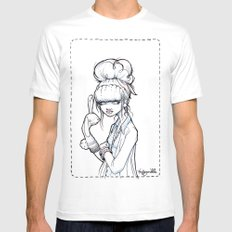 The Puppet Master White SMALL Mens Fitted Tee