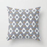 Tiling Throw Pillow
