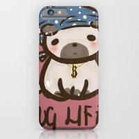 iPhone & iPod Case featuring 'Pug Life' by I3uu
