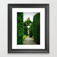 Levens Hall, Lake Distri… Framed Art Print