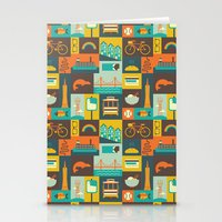 san francisco Stationery Cards featuring San Francisco by Ariel Wilson