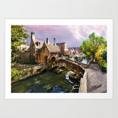 Magical Places Art Print