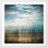 reflection. Art Print