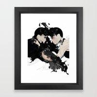 QUARREL Framed Art Print