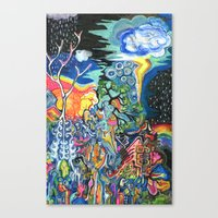 The Elements Canvas Print