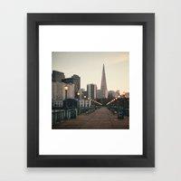 Transamerica Pyramid Framed Art Print