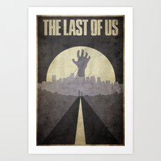 The Last of Us - Poster Art Print
