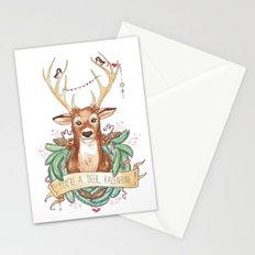 Deer Valentine Stationery Cards