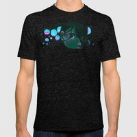 Little Mermaid Mens Fitted Tee Tri-Black SMALL