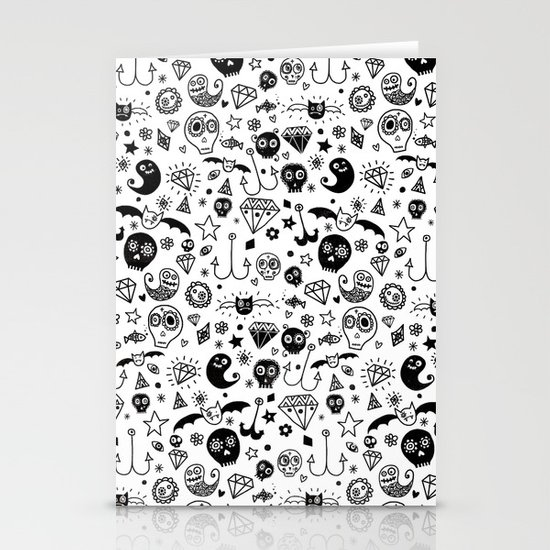 Day of the dead Stationery Card